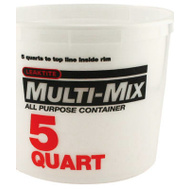 Leaktite 10M3-50 5 Quart Calibrated Mixing Container