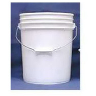 Leaktite 5GLSKD 5 Gallon White Plastic Industrial Pail