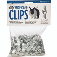 Miller Mfg ACC1 Pet Lodge Cage Clips Wire 1 Pound