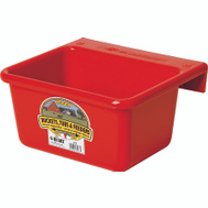 Miller Mfg MF6RED Little Giant 6 Qt Plastic Red Mini Feeder