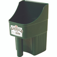 Miller Mfg 150422 Little Giant 3 Qt Enclosed Feed Scoop Green