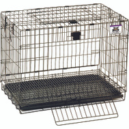 Miller Mfg 150903 Pet Lodge Cage Wire Rabbit Pop-Up 25In