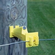 Zareba IW5XNY-Z 5 Inch Wood Post Yellow Insulator