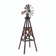 United General TX93485 Windmill Yard Char-Log 9Ft
