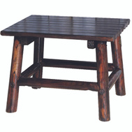 United General TX 93723 Table End Sqre Solid Wood 24 Inch L