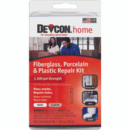 ITW 90216 Devcon Fiberglass Porcelain Or Plastic Repair Kit Almond Or White