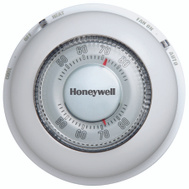 Honeywell YCT87N 1006 Thermostat Heat/Cool Round