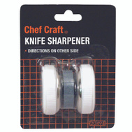 Chef Craft 20494 Roller Style Compact Knife Sharpener