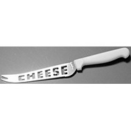 Chef Craft 21368 Cheese Knife White Handle