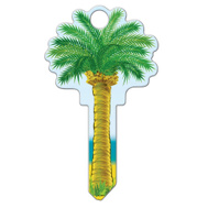 Lucky Line B112K Key Blank Palm Tree Kwikset