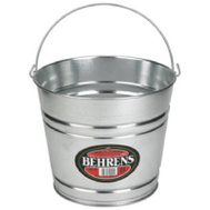 Behrens 1208GS 8 Quart Galvanized Steel Water Pail