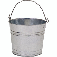 Behrens 1210GS 10 Quart Galvanized Steel Water Pail