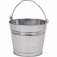 Behrens 1212GS Galvanized Metal Water Bucket, 12 Quarts