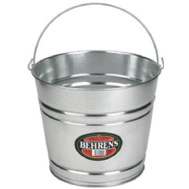 Behrens 1214GS 14 Quart Galvanized Steel Water Pail
