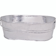 Behrens 00-0V 4 Gallon Hot Dipped Oval Tub