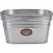 Behrens 62 Square Galvanized Utility Tub 16 Gallons