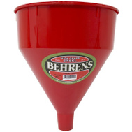 Behrens 66 Funnel Plastic Red 6Qt