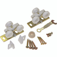 LE Johnson 1500PPK3 Pocket Door Hardware Kit Dull Brass