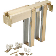 LE Johnson 153068PF Universal Pocket Door Frame Set 36 By 80 Inch 125 Pound Door