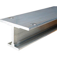LE Johnson 200-0072 Extruded I Beam Pocket Door Track 72 Inch 200 Series