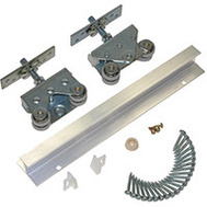 LE Johnson 200721DR Pocket Door Hardware And Frame Set 400 Pounds 36 Inch Door