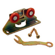 LE Johnson 2312PPK1 Sliding Door Universal Replacement Hanger For V Track Dull Brass