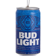 Kurt Adler AB1111 Ornmnt Budlight Beer Can 3In