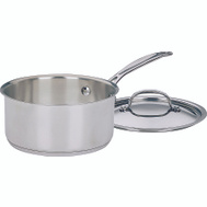 Cuisinart 719-18 Chefs Classic Saucepan 2 Quart With Cover Stainless