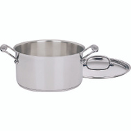 Cuisinart 744-24 Chefs Classic Saucepan 6 Quart With Cover Stainless