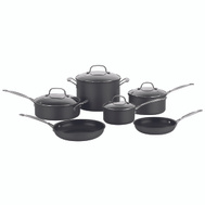 Cuisinart 66-10 Chefs Classic 10 Piece Set Hard Anodized Cookware