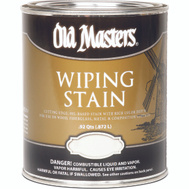 Old Masters 11604 Wiping Stain Interior Exterior Maple Quart