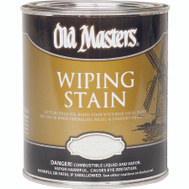 Old Masters 12904 Wiping Stain Interior Exterior Pecan Quart