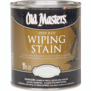 Old Masters 15016 Wiping Stain Rich Mahogany 1/2 Pint