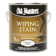 Old Masters 15201 Wiping Stain Espresso Gallon