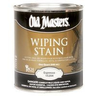 Old Masters 15204 Wiping Stain Espresso Quart