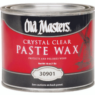Old Masters 30901 Wax Paste Crystal Clear 1 Pound
