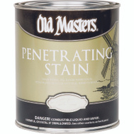 Old Masters 43804 Interior Penetratiing Stain Natural Walnut Quart