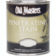Old Masters 44016 Interior Penetratiing Stain Colonial American Walnut 1/2 Pint