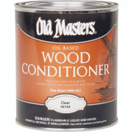 Old Masters 50104 Oil Based Pre Stain Wood Conditioner Quart