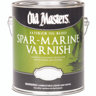 Old Masters 74501 Spar Urethane Water Exterior Satin Gallon