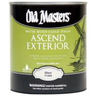 Old Masters 74404 Spar Urethane Water Exterior Gloss Quart