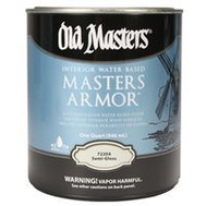 Old Masters 72204 Interior Water Based Masters Armor Semi Gloss Quart