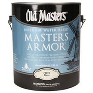 Old Masters 72301 Interior Water Based Masters Armor Gloss Gallon