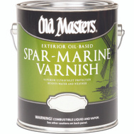 Old Masters 74601 Spar Urethane Water Exterior Semi Gloss Gallon