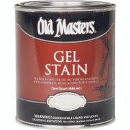 Old Masters 81004 Gel Stain Interior Exterior Pickling White Quart