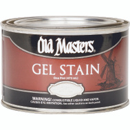 Old Masters 81008 Gel Stain Interior Exterior Pickling White Pint