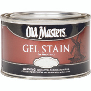Old Masters 81608 Gel Stain Interior Exterior Natl Walnut Pint
