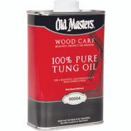 Old Masters 90004 100% Pure Tung Oil Quart