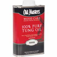 Old Masters 90008 100% Pure Tung Oil Pint