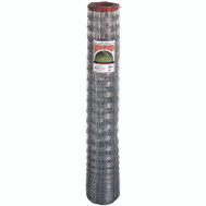 Keystone Wire 75513 Red Brand Poultry And Rabbit Fence 14-1/2 Gauge 60 Inch By 165 Foot